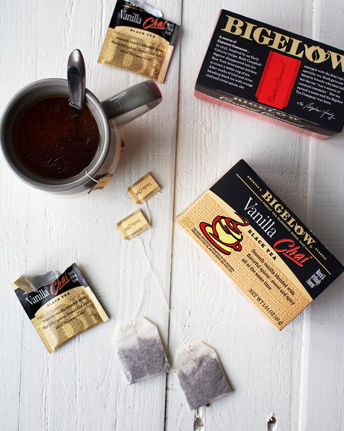 Vanilla Chai Tea Infused Whipped Cream
