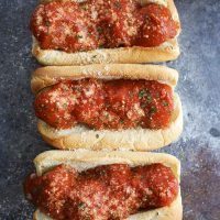 Vegan Meatball Subs