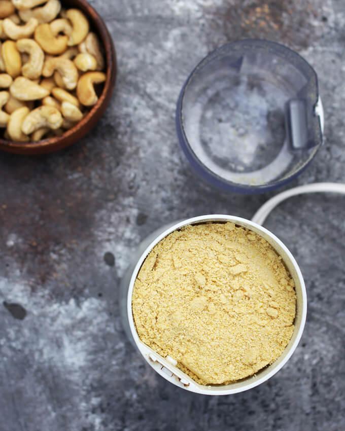 Homemade Vegan Parmesan