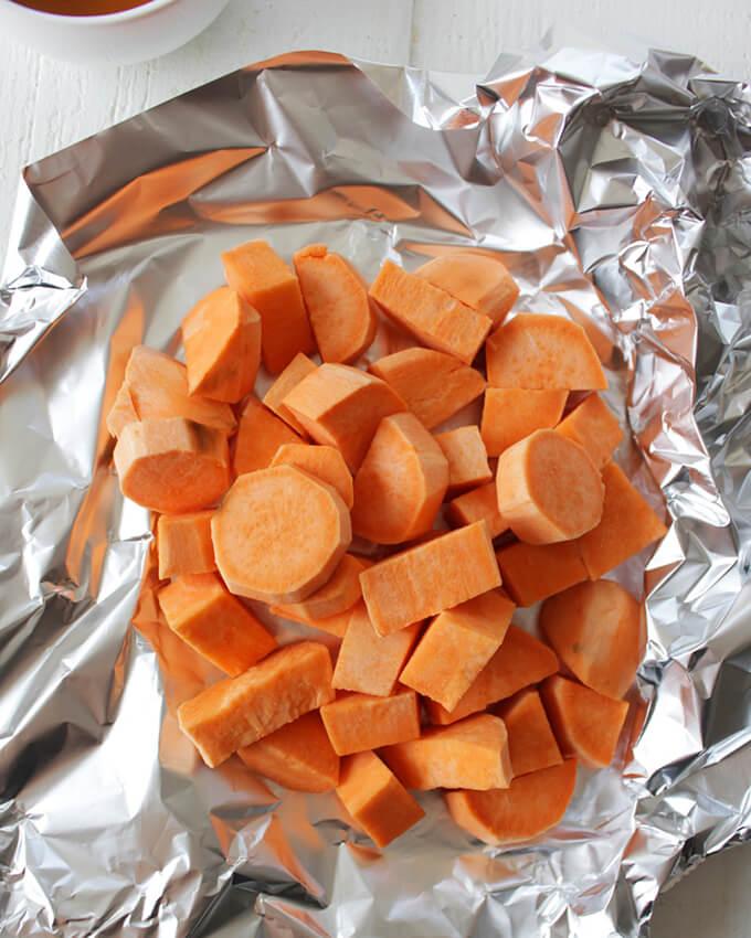 Vegan Sweet Potato Pie Smoothie