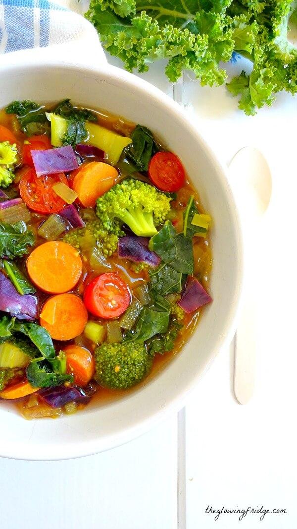 Oil-Free Vegan Recipes - Detox Soup
