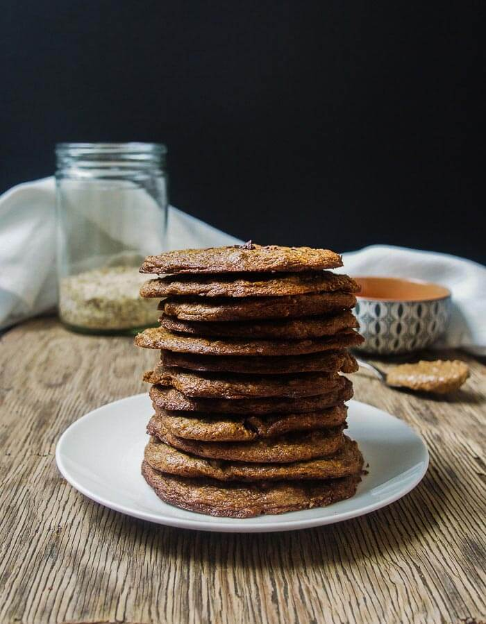 oil-free vegan cookies