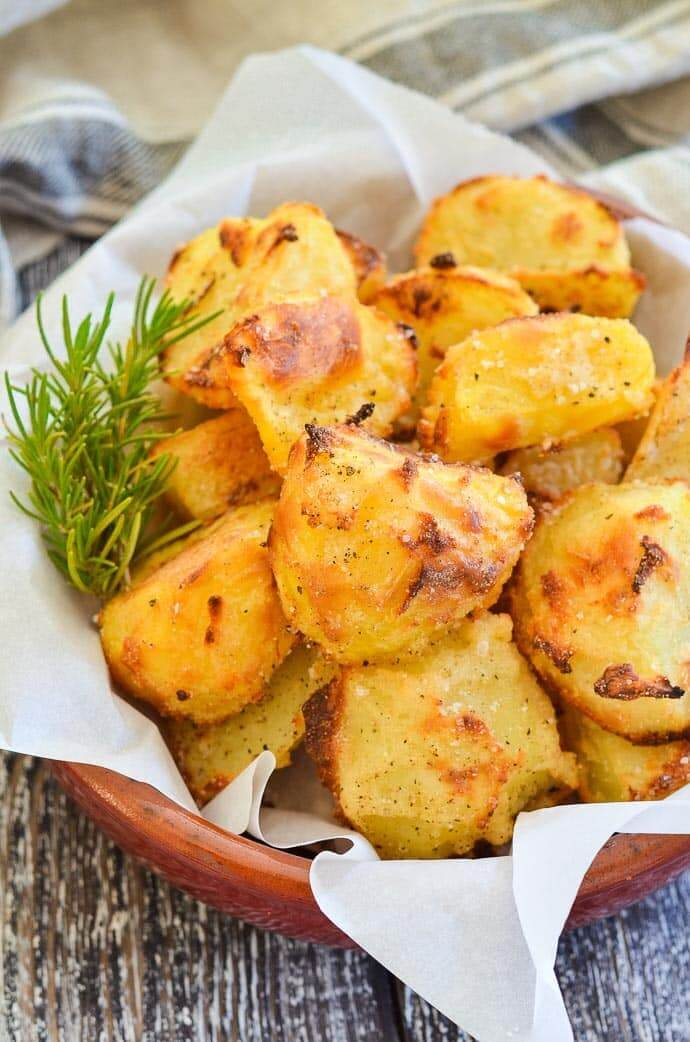 Oil-Free Vegan Recipes - Crispy Potatoes