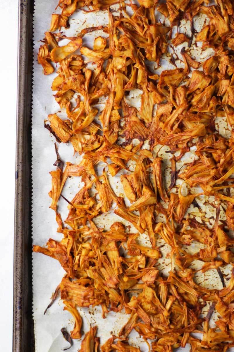 Jackfruit Enchilada Bowls - Vegan meal prep