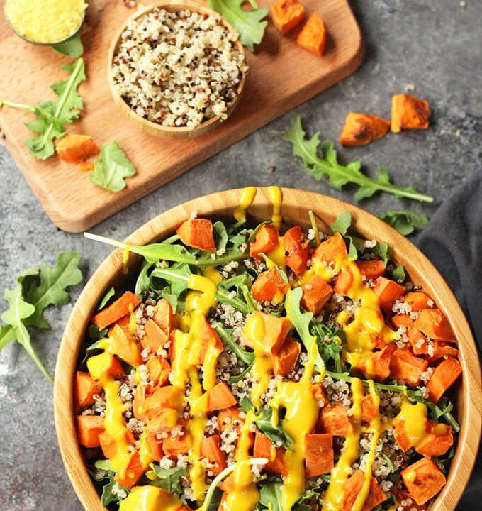 27 Hearty Healthy Vegan Salad Recipes
