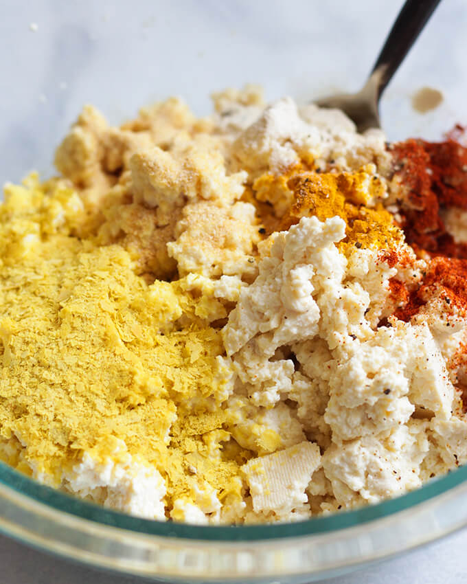 Tofu Scramble - vegan breakfast idea