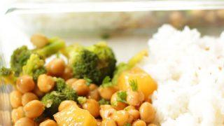 Vegan Teriyaki Meal Prep Bowls