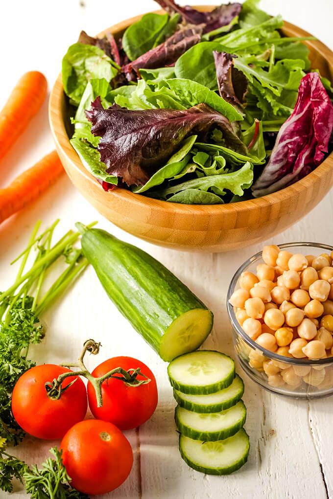 Vegan Chopped Salad