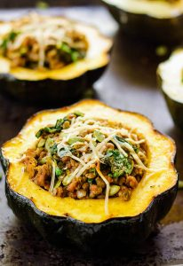 vegan stuffed squash recipe