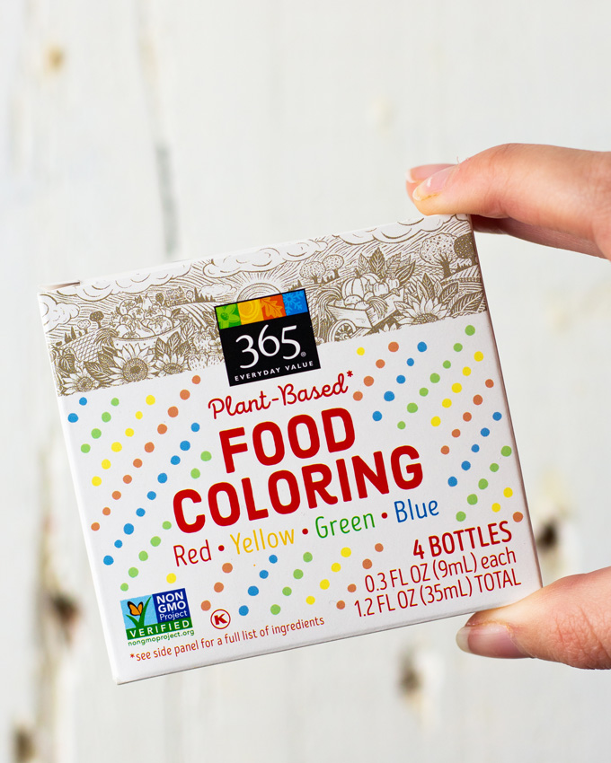Plant Based Food Coloring