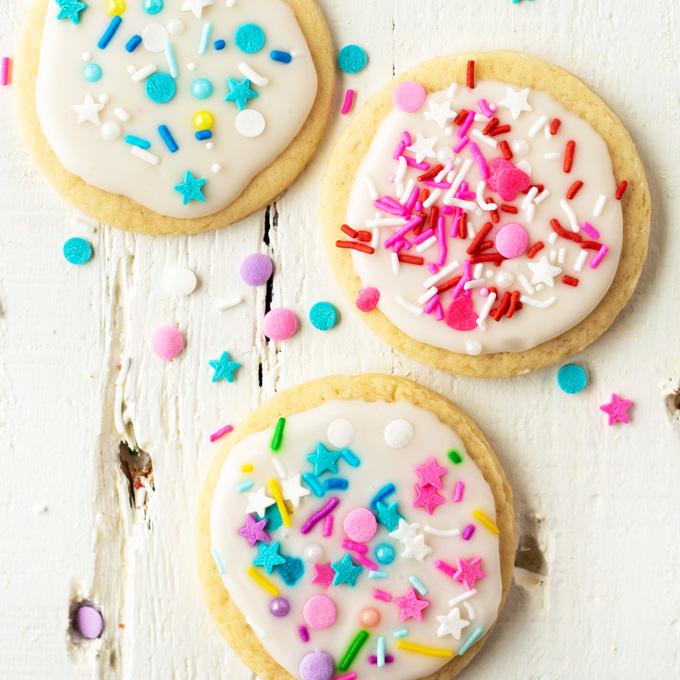 Vegan sprinkles for cookies