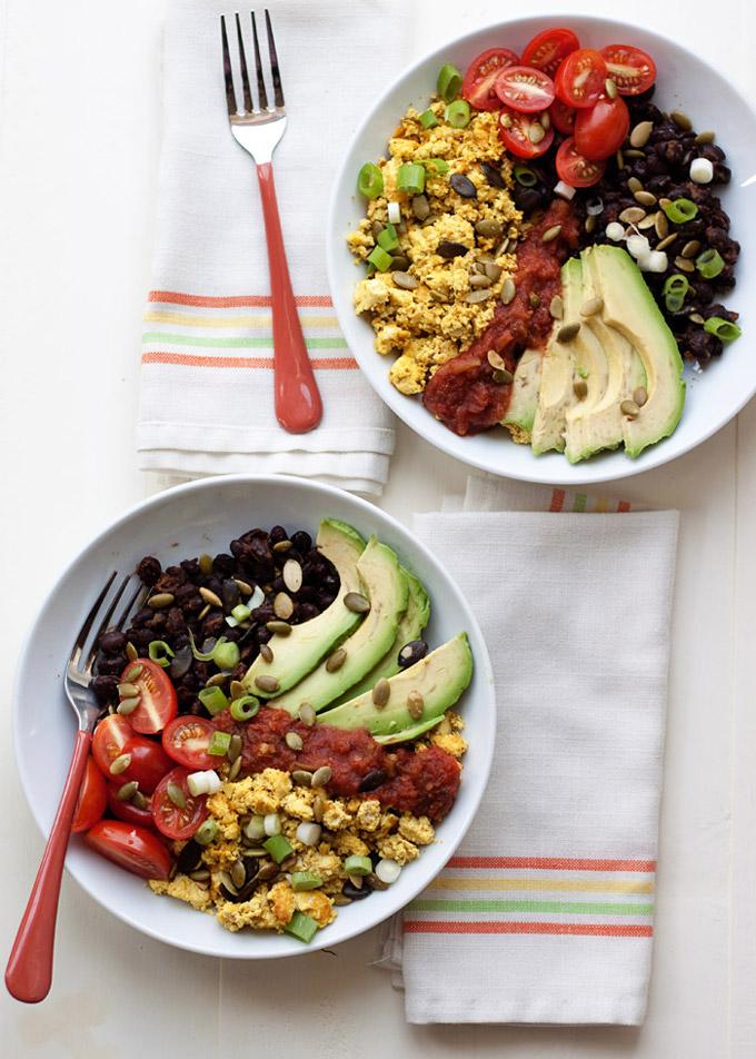 high-protein vegan breakfast bowls