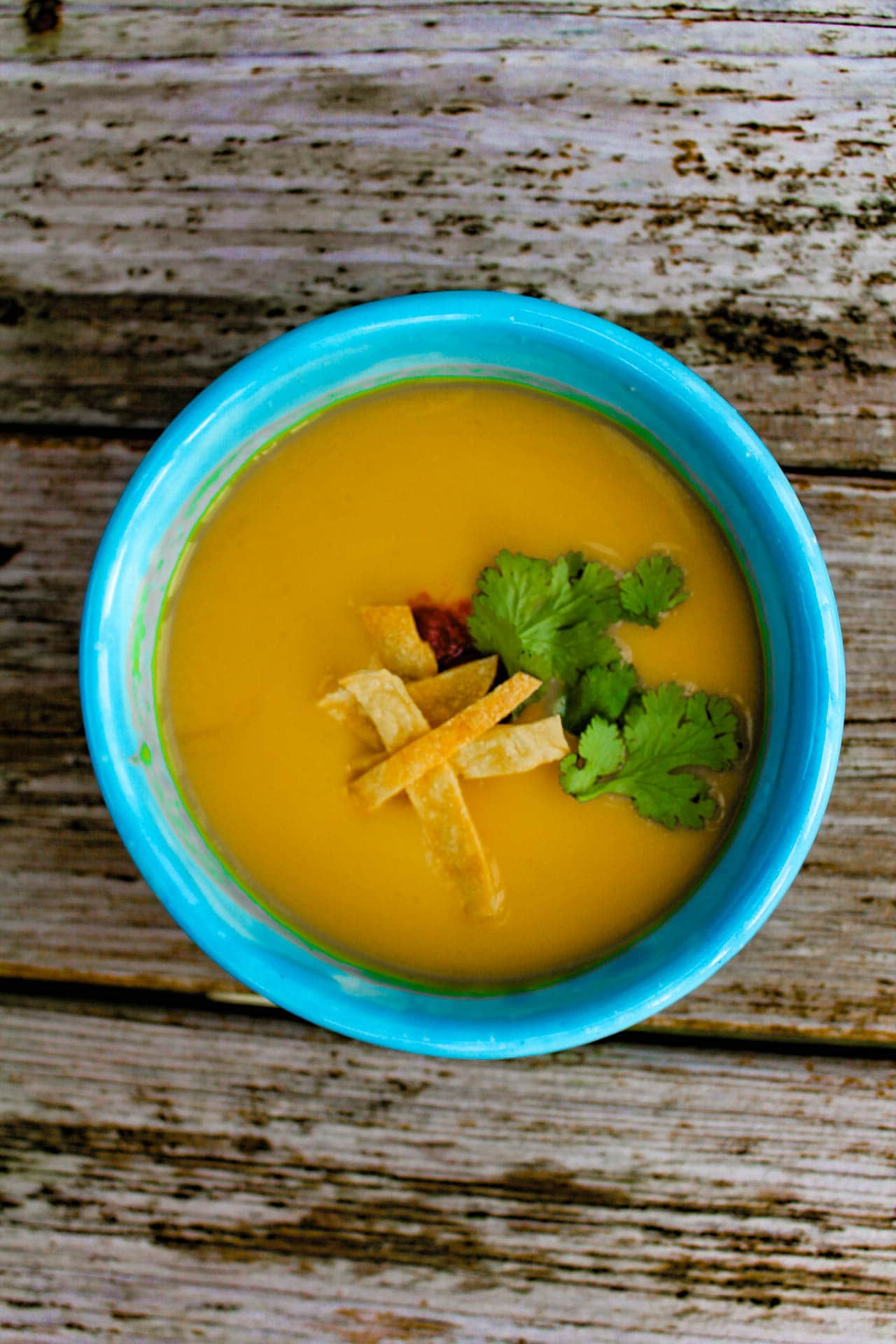 Apple Pumpkin Soup with Chipotle