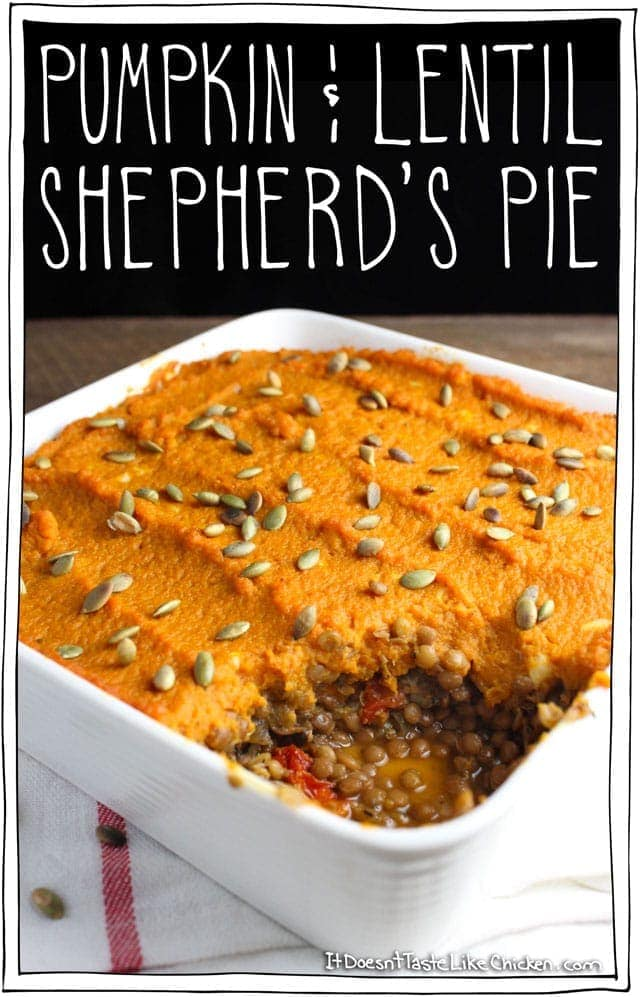 Pumpkin & Lentil Shepherd's Pie