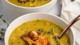 Vegan Split Pea Soup