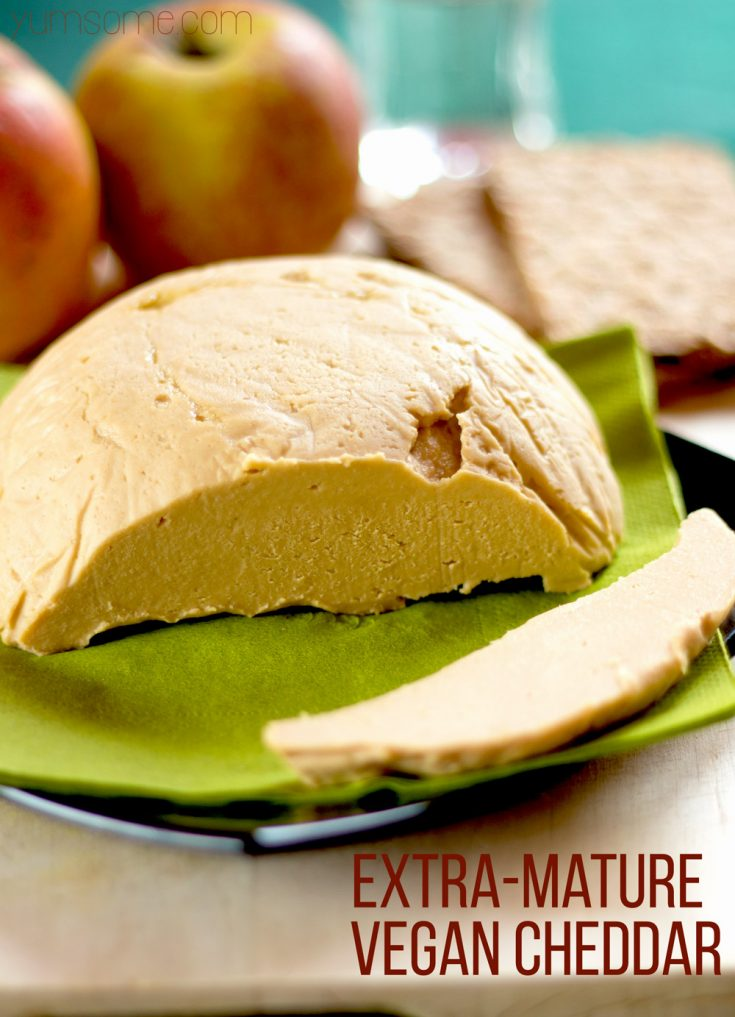 Extra Mature Vegan Cheddar