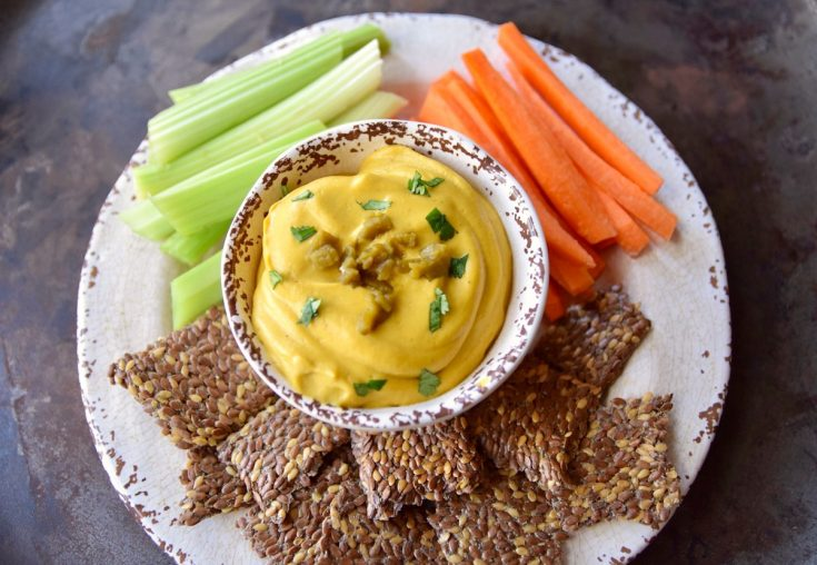 Vegan Cauliflower Queso in the Instant Pot