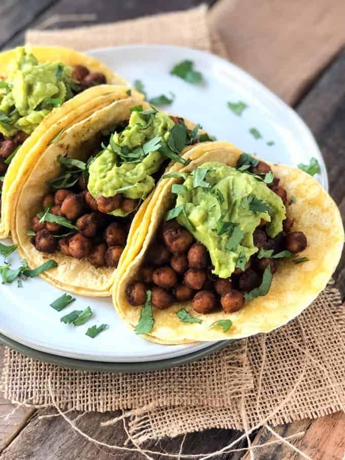 Chipotle Chickpea Tacos Recipe