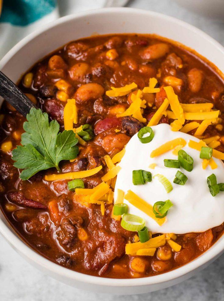 Yummy Vegan Chili