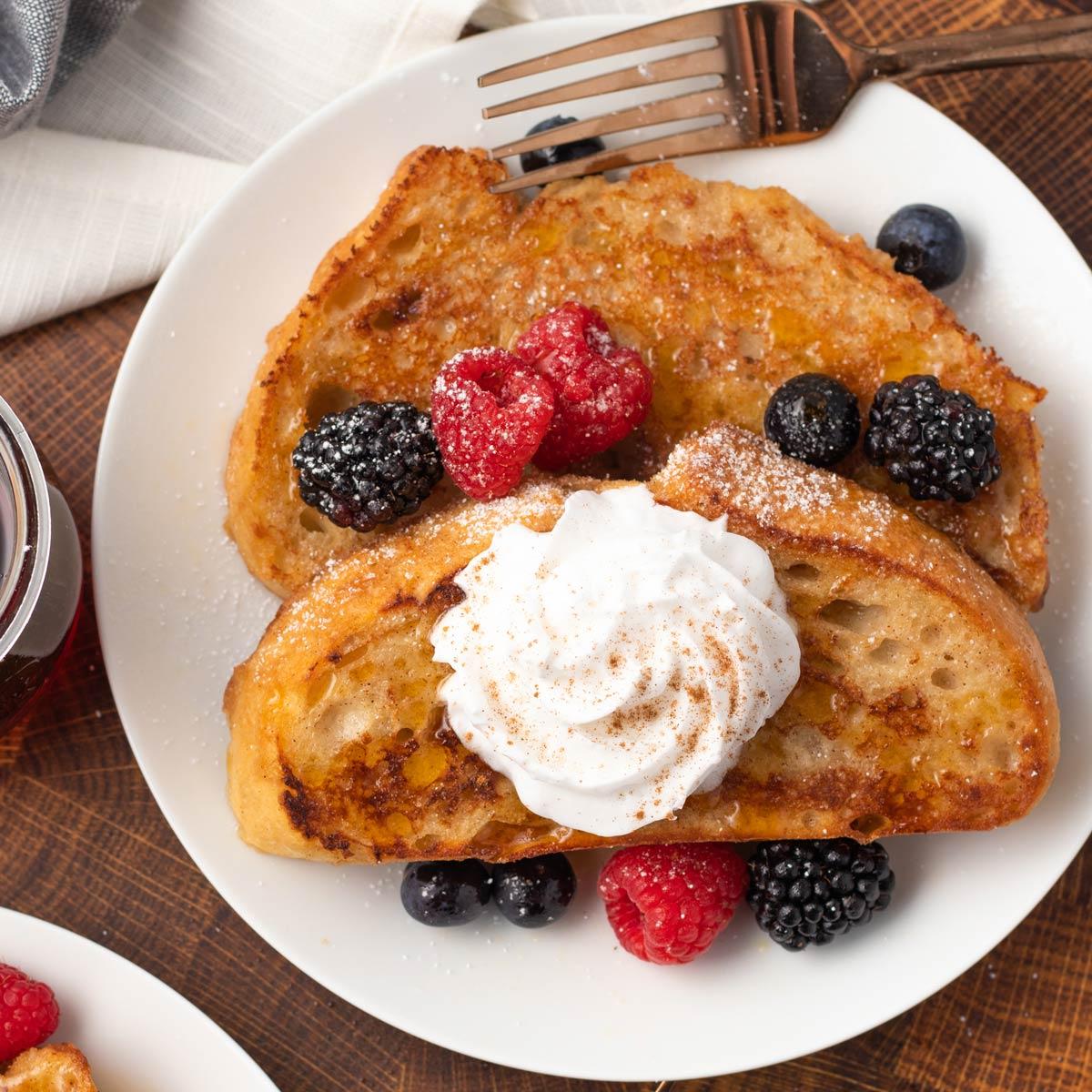 Vegan French Toast Easiest 6 Ingredient Recipe