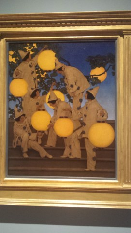 The Lantern Bearers by Maxfield Parrish (1908)