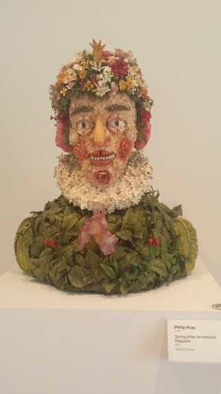 Spring (After Arcimboldo) Maquette by Philip Haas (2010)