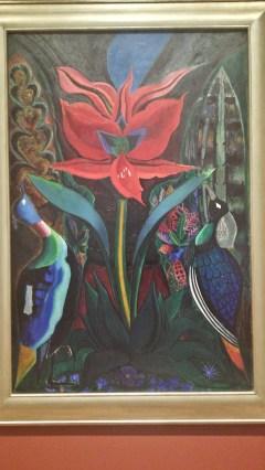 Red Flower by Joseph Stella (1929)