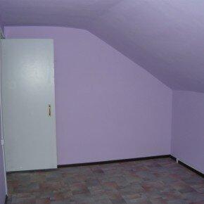 Les murs sont simplement peints