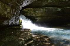 Waterfall at Blanchard Springs