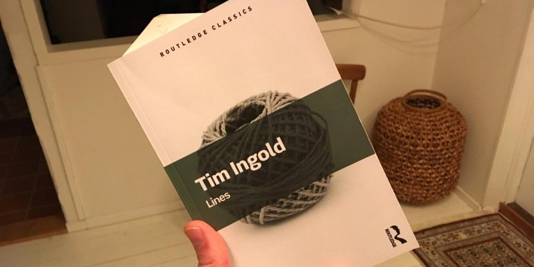 Tim Ingold: Lines: A Brief History (Routledge)