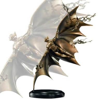 Batman Begins Flying Sculpture