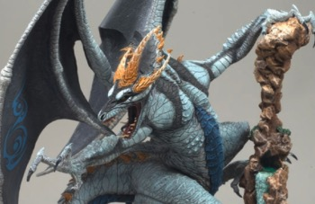 Eternal Dragon Statue