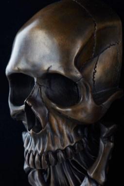 Bronze Skull Door Knocker