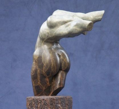 Bronze Female Torso Fragment