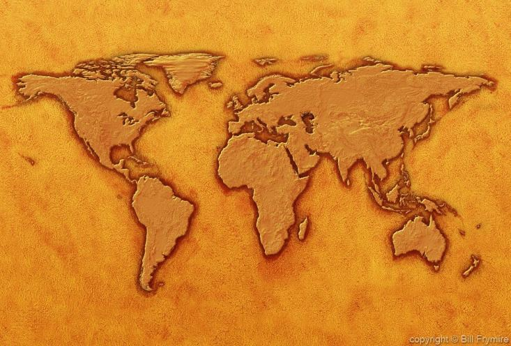 And we used to believe the world was flat dark awakening dark flat world map texture gold gumiabroncs Gallery