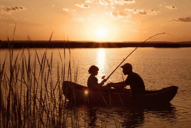 Karlene Cameron fishing