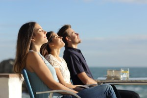 Breathing fresh air