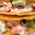 Shrimp taco's (low FODMAP, gluten-free, lactose-free)