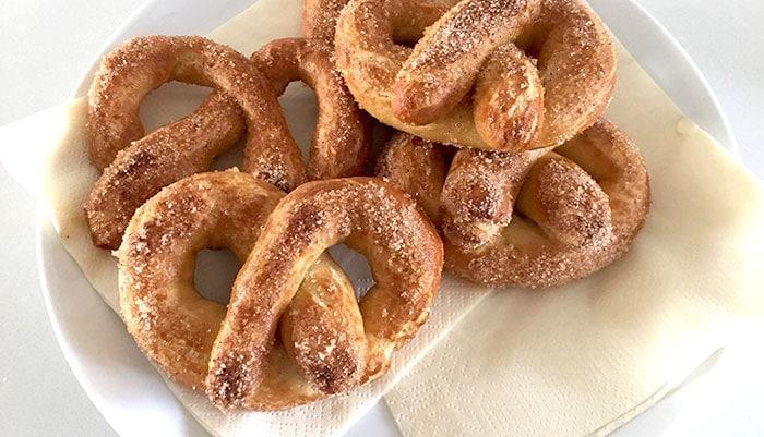 Glutenvrije zachte pretzels - Karlijnskitchen.com