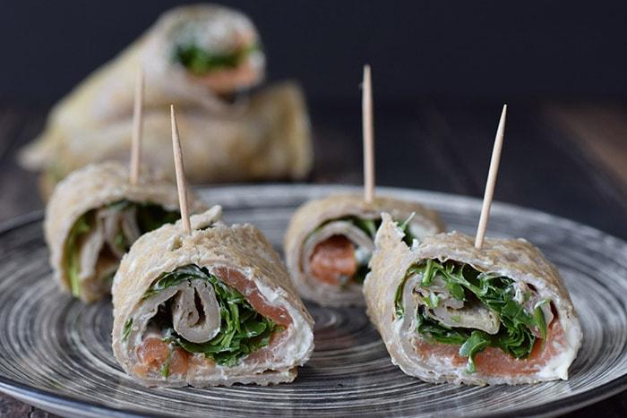 low fodmap wraps party snack - karlijnskitchen.com