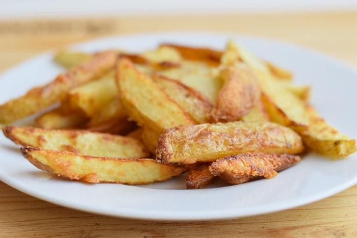 truffel frietjes met parmezaanse kaas - karlijnskitchen.com