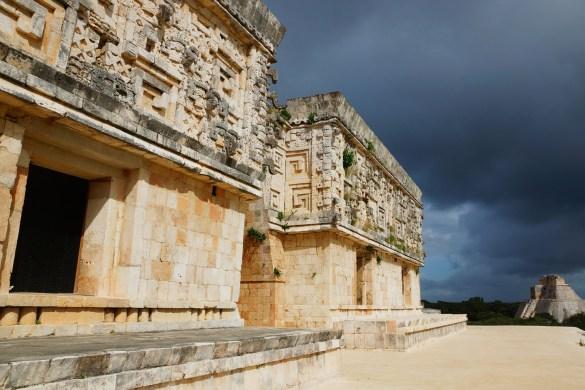 Maya tempel Uxmal Mexico