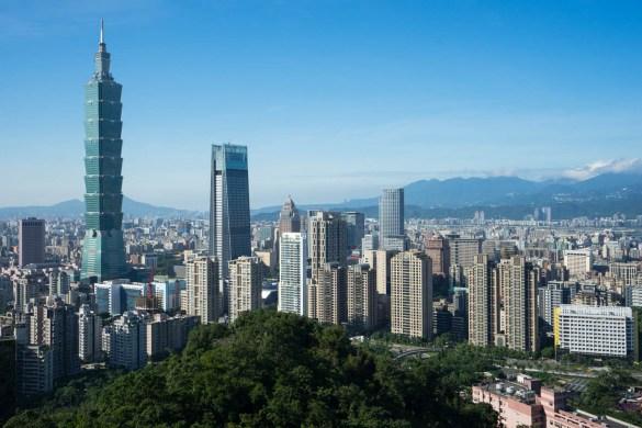 Taiwan Taipei view