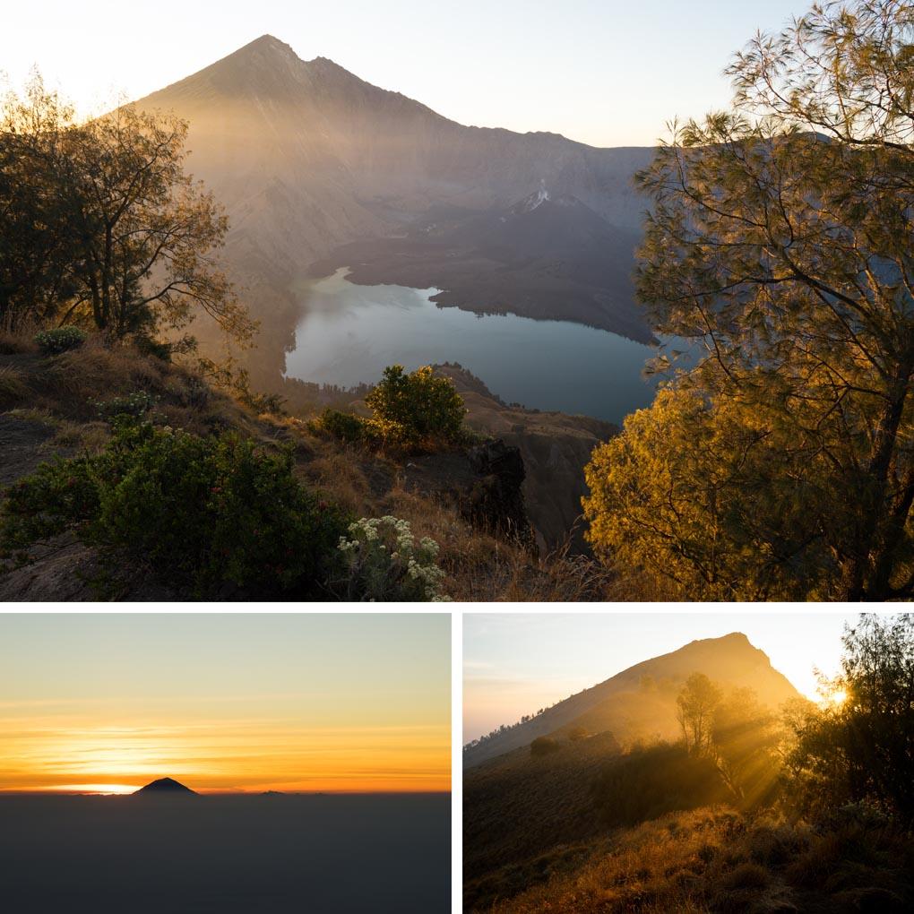 zonsondergang Rinjani Lombok