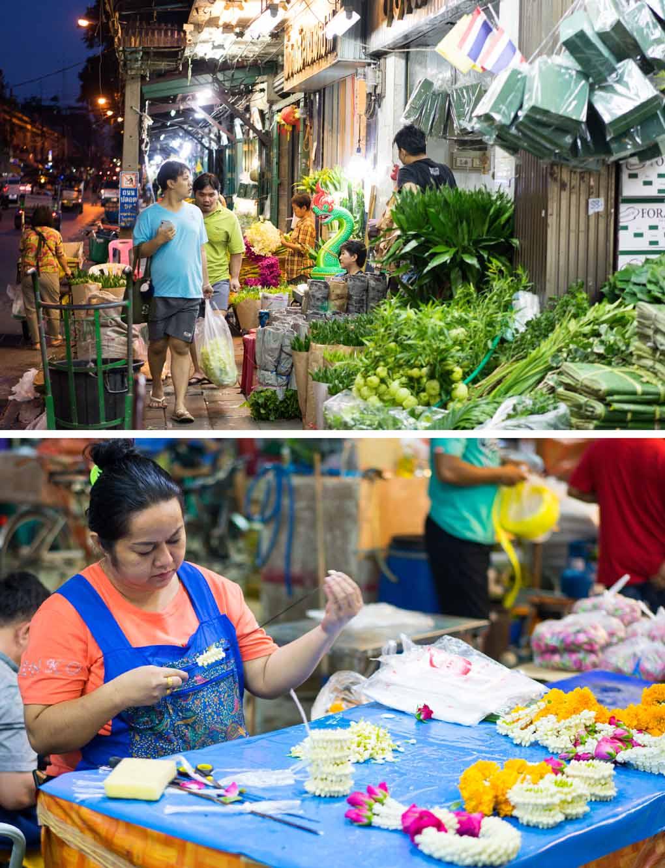 bloemenmarkt Bangkok