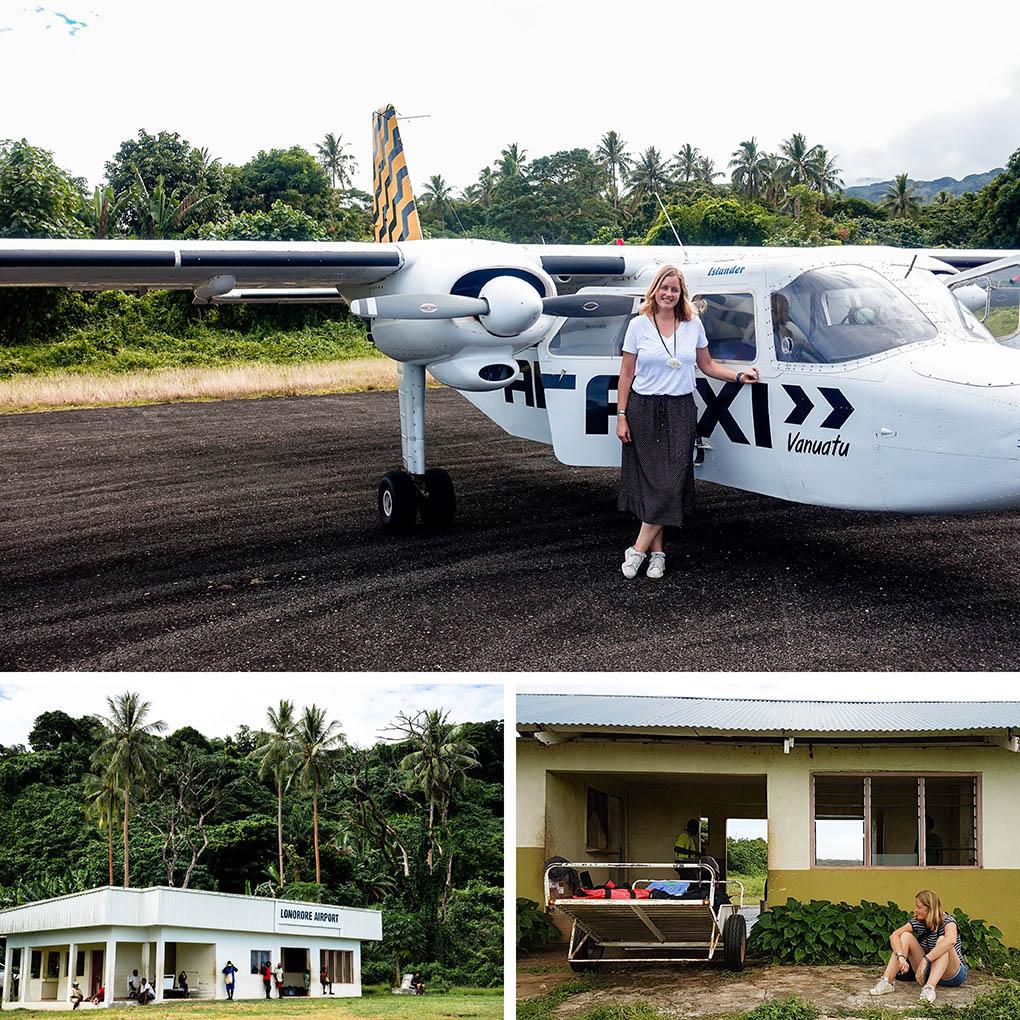vliegtuig Vanuatu