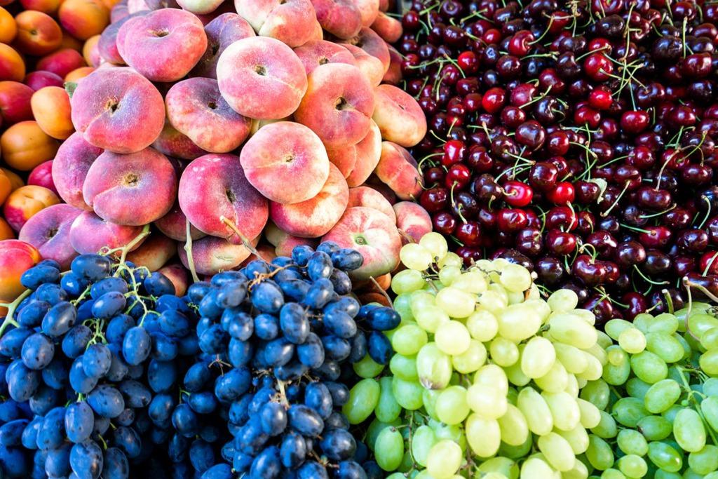 fruit op markt Split
