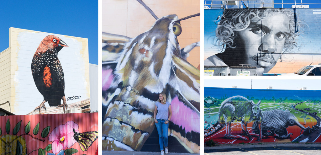 street art Alice Springs