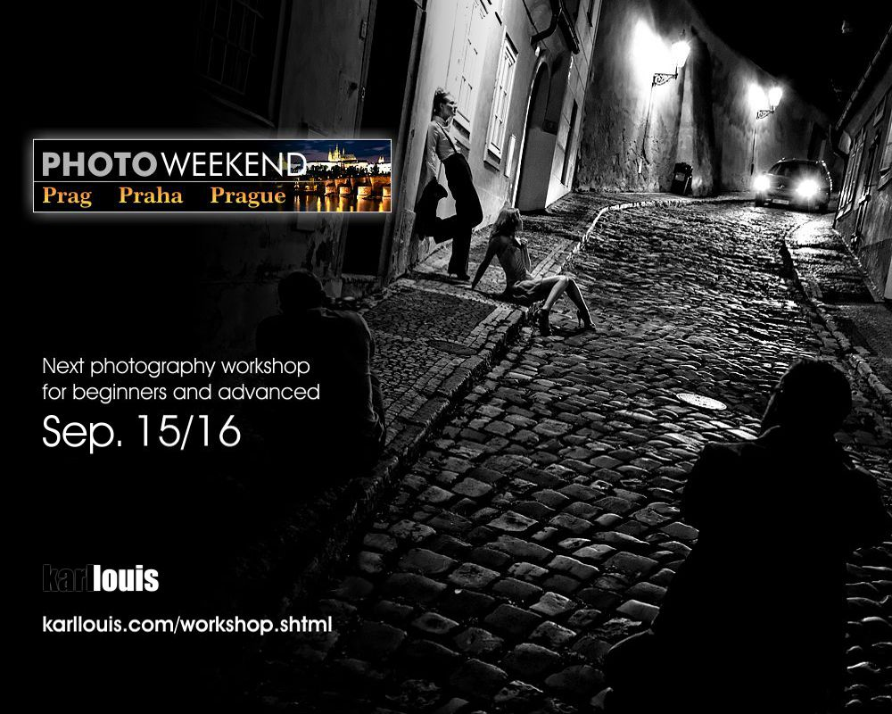 Karl Louis PhotoWeekend Prague 2018
