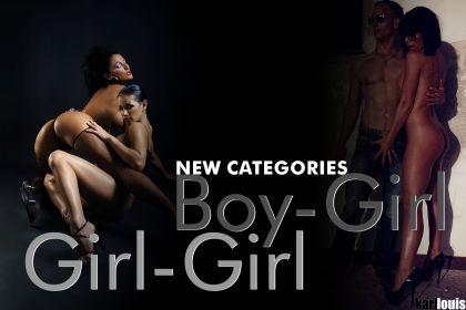 Boy-Girl and Girl-Girl Categories